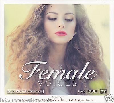 """Female Voices""  24 bit/96 kHz Audiophile Mastering HDCD CD New Sealed"