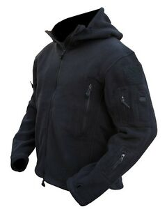 Image is loading Black-Tactical-Recon-Hoody-Military-Army-Hoodie-Fleece- 10623ac03