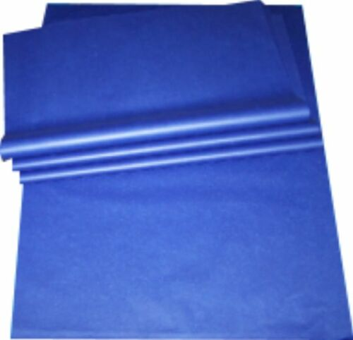 """50x Blue Tissue Paper Sheets Size 20x26/"""" 500x650mm Acid Free Wrapping Packing"""