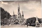 65 - cpsm - LOURDES - L'église du Rosaire et la basilique