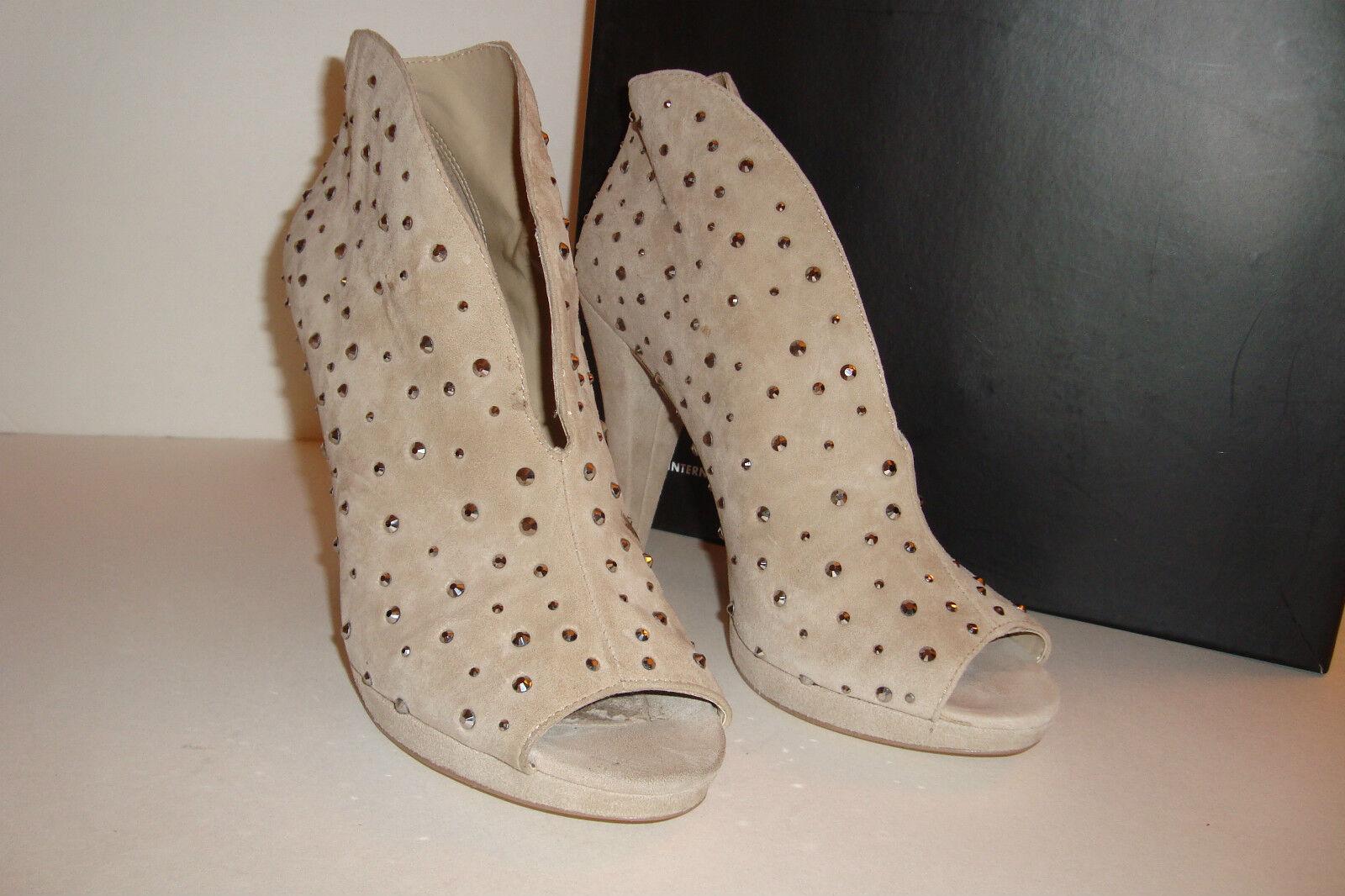 Inc International Concepts para mujer mujer mujer Tiara tan Biscuit Tacones Zapatos 8 Med pantalla  moda clasica