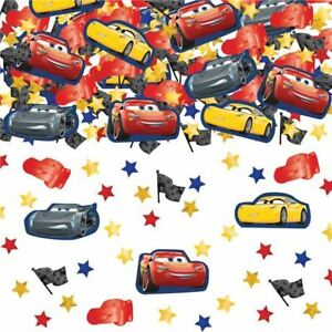 34g Party Tableware Decorations Pack of 3 Disney Pixar Cars Table Confetti