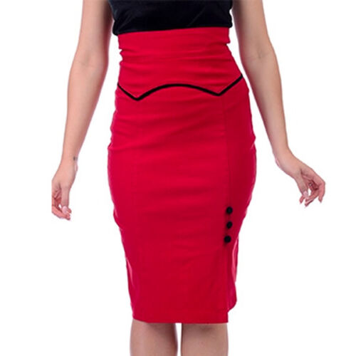 Veronica Novità rosso Opening Sm With Taglia Woman Skirt Steady Clothing OqRdwOA