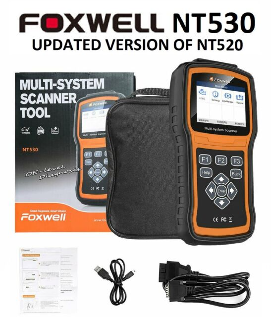 Diagnostic Scanner Foxwell NT530 For FIAT 500 Obd2 Code