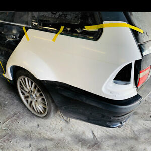 BMW-e46-estate-touring-fibreglass-50mm-overfenders-quarters-drift-drag-track