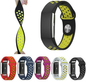 Sports-Strap-for-Fitbit-Charge-2-Replacement-Band-Secure-UK-Wristband-HR