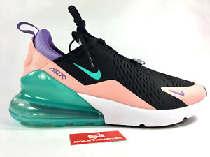 Details about New AIR MAX 270 Have a Nike Day CI2309 001 BlackHyper Jade Bleached Coral c1