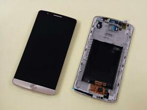 Details about Lcd display touch and frame + kit repair  LG G3 D855 BLACK  TITANIUM WHITE