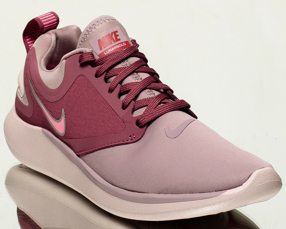 Nike Wmns LunarSolo damen running Turnschuhe NEW elemental Rosa Rosa AA4080-606