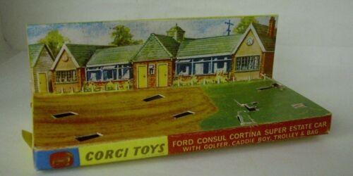 440 FORD CONSUL CORTINA SUPER ESTATE CAR REPRO BOX CORGI n