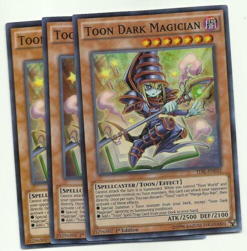 1x Toon Dark Magician TDIL-EN032 1st Super Rare NM Yugioh Card