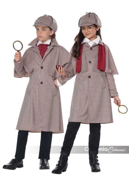 Brand New Lady Sherlock Detective Adult Costume