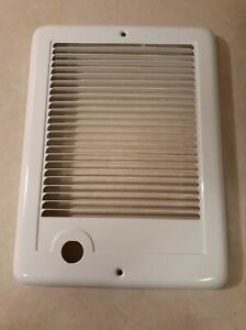 Replacement Grill For Cadet CSC101TW Wall Heater, 120V 1000W Com-Pak Plus White