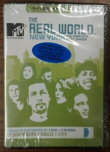 MTV-The-Real-World-New-York-The-Complete-1st-Season-DVD-2002-Factory-Sealed