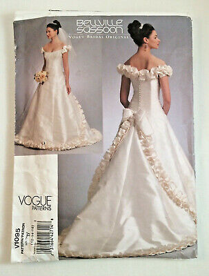 OOP Vogue Bridal Original Wedding Gown Sewing Pattern You Pick