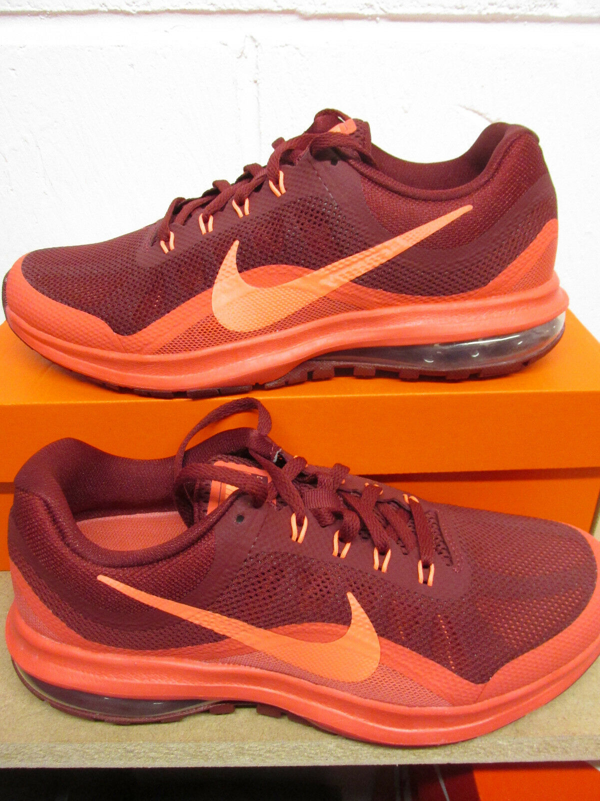 2f0e3e2a214 Nike Air Max Dynasty 2 Mens 852430 600 600 600 Running Trainers Sneakers  Shoes d51183