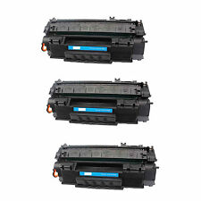 3-Pk/Pack HP Q7553A 53A Toner For HP LASERJET P2015 M2727 MFP M2727nf MFP P2015d