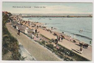 Essex-postcard-West-Sands-amp-Promenade-Clacton-on-Sea-A294