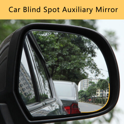 1 Pair 360º Rotate Car Blind Spot Rearview Mirror Wide Angle Auxiliary Security