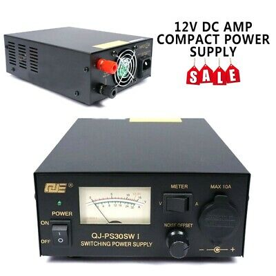 220V Regulated 30A Compact Power Supply 13.8Vdc Ham Radio Switching Power Supply