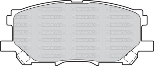 OEM SPEC FRONT AND REAR PADS FOR LEXUS RX350 3.5 2006-09