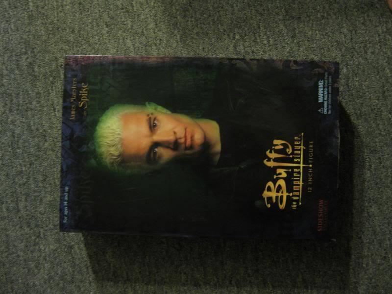 marca en liquidación de venta Sideshow Buffy la cazavampiros Spike Spike Spike 12  Figura De Acción Escala 1 6th Nuevo  entrega rápida