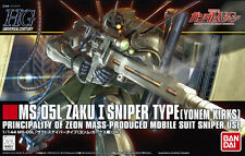 Bandai 1/144 HGUC 137 MS-05L Zaku I Sniper Type (Yonem Kirks)