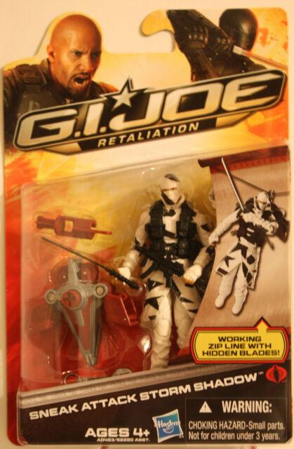 "SNEAK ATTACK STORM SHADOW G.I Joe Retaliation 4/"" inch Figure Series 2 2012"