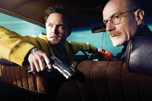 Breaking Bad BreakingBad White Pink TV Show Art Wall Cloth Poster Print 514