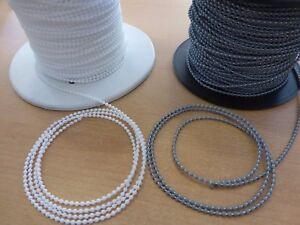 Kette-3-2-x-4mm-Bedienkette-aus-Kunststoff-fur-Jalousie-Rollo-Plissee-weis-grau