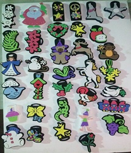 500 Chunky Foam Stamps Cookie Cutter & Craft Playful Pets Stars great for school