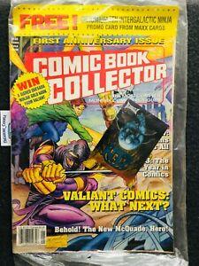 Unopened - Comic Book Collector - CHROMIUM ZEN NINJA - Card in package Jan '94