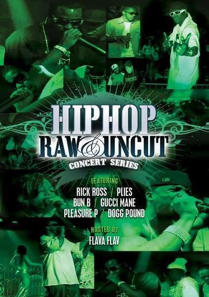Divers - Hip Hop Raw & Uncut Nouveau DVD