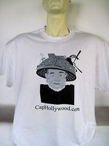 Captain-Hollywood-Tee-T-Shirt-CapHollywood-Tin-Foil-Hat-Logo-Tee-NEW-Sealed