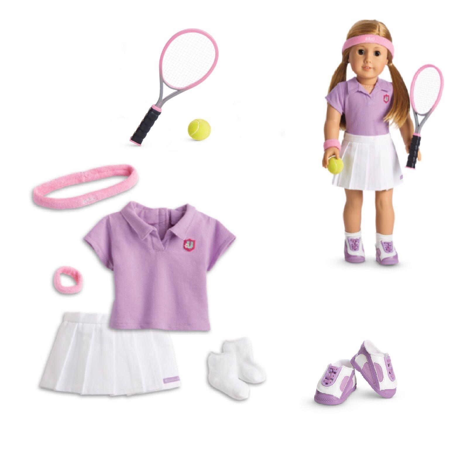American Girl Tm Tennis Outfit für 45.7cm Puppen Kleidung Sport Schläger