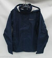 Marmot Mens PreCip Rain Jacket 41200 Arctic Navy Size Medium