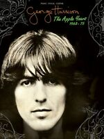 George Harrison The Apple Years Sheet Music Piano Vocal Guitar Songboo 000138250