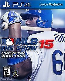 MLB 15: The Show 10th Anniversary Edition steelbook new free shipping