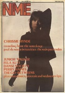 NME-NEWSPAPER-COVER-FOR-26-11-1983-CHRISSIE-HINDE
