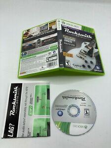 Microsoft Xbox 360 CIB COMPLETE Tested Rocksmith-All New 2014 Edition NO CABLE
