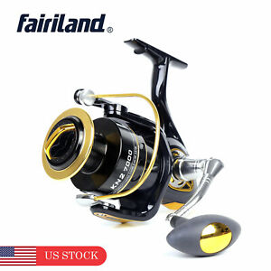 5.2:1 Spinning Reel CNC-Aluminum Alloy Left//Right Handle Exchange Fishing Wheel