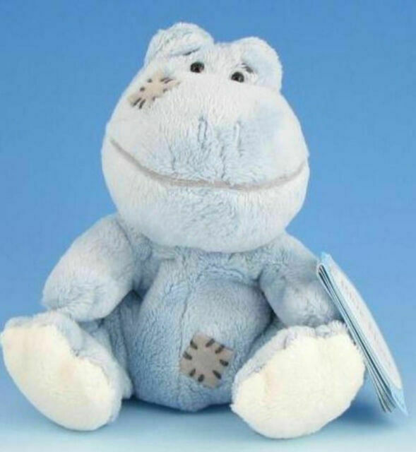 Carte Blanche Blue Nose Friend  4inch frog Lily