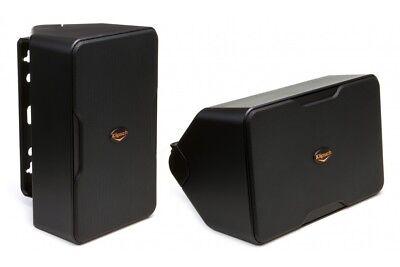 """Klipsch CP-6 BLACK 5-1//4/"""" Indoor//Outdoor  Surface Mount Speaker Pair"""