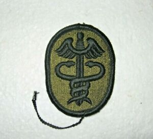 Details about U S Army Patch - Health Services Command Embroidered Subdued