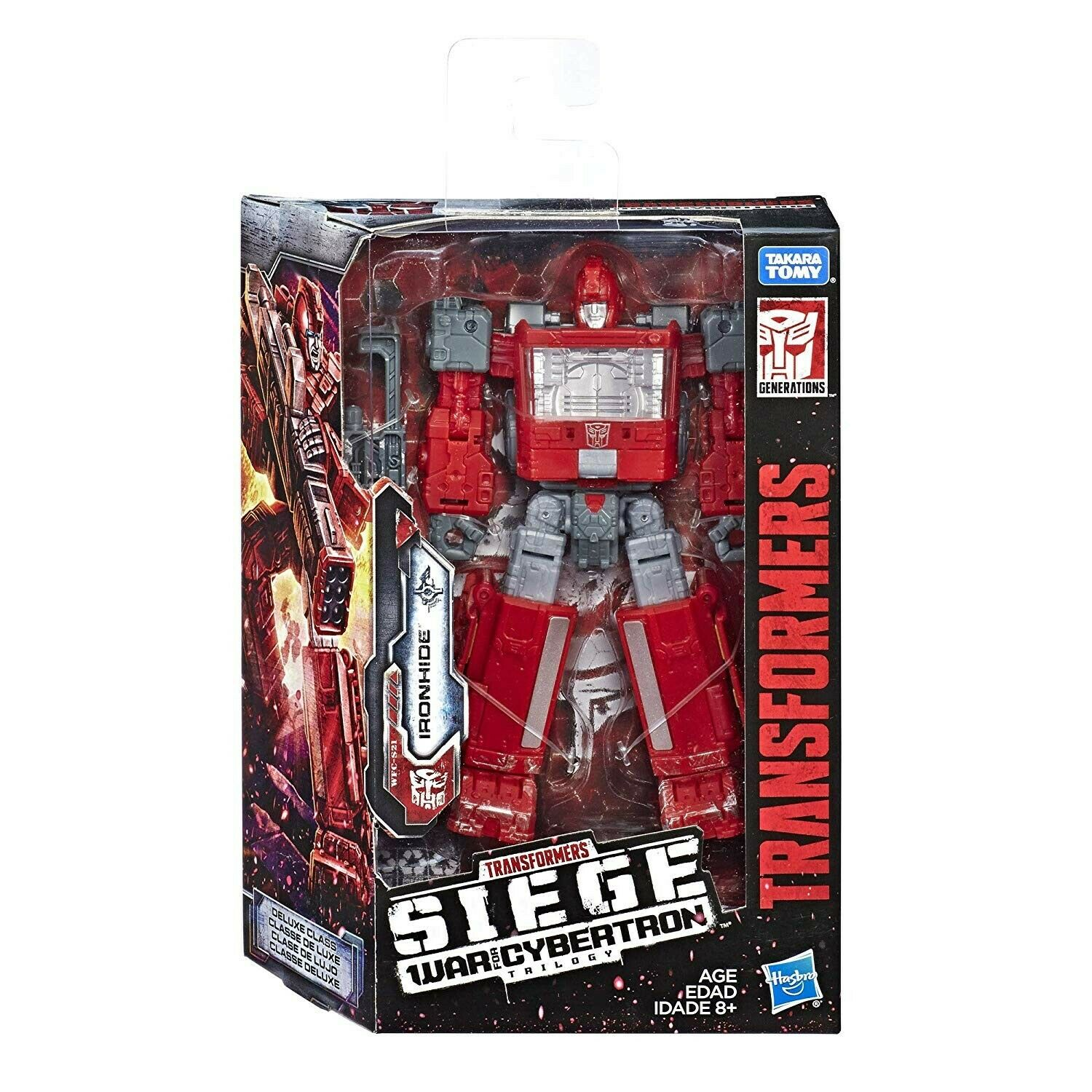 Transformers SIEGE WFC War For Cybertron W2 Deluxe Ironhide Action Figure NEW