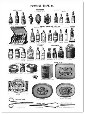 ANTIQUE VICTORIAN CATALOGUE ILLUSTRATION OF CHILDRENS TOYS A3  POSTER REPRINT