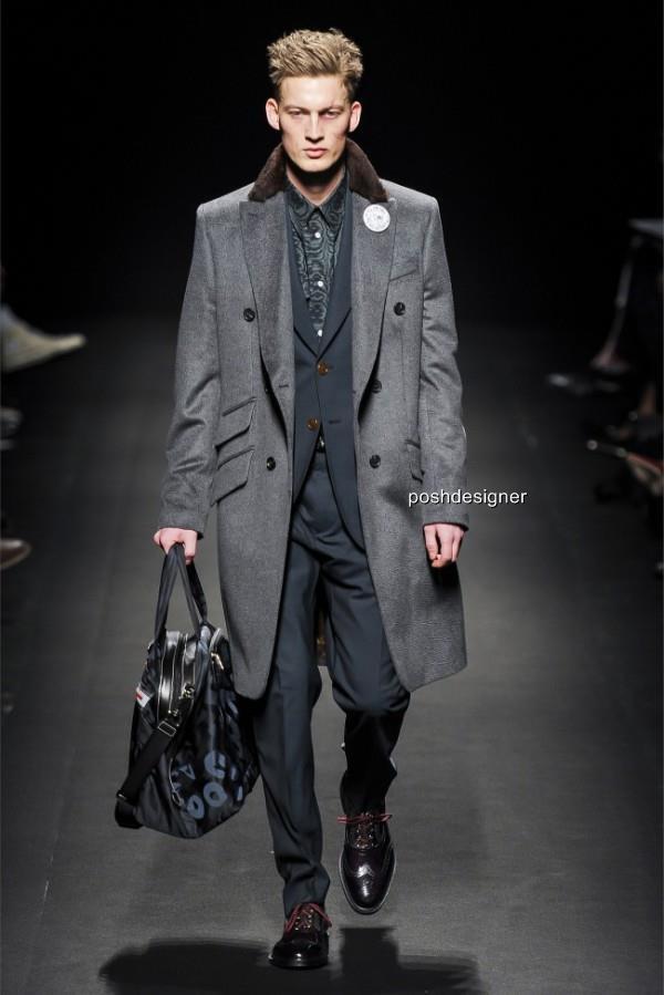 Vivienne Westwood Cashmere Wool Shearling collar Coat IT46 US36 Uk36 1490GBP