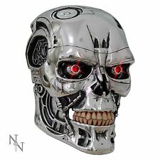 Terminator 2 T800 Head Wall Mask Nemesis Now 23cm High
