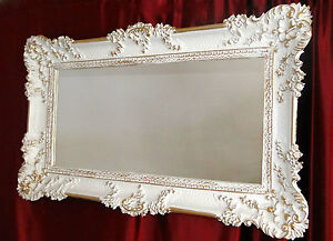 Grande Specchio Parete Barocco Rettangolare Oggetto d\'antiquariato ...