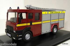 Fire-Brigade-Models-scala-1-50-FBM4-DODGE-G-Fire-amp-Rescue-Service-Modello-Diecast